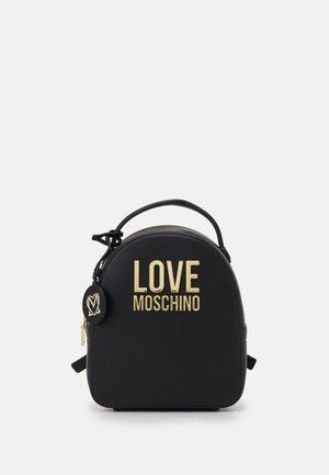 LOGO SMALL BACKPACK - Sac à dos - black