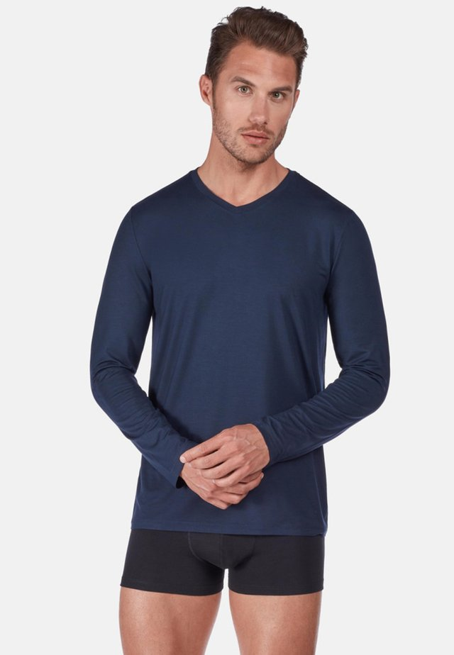 24 HOURS  - Pyjama top - dark blue