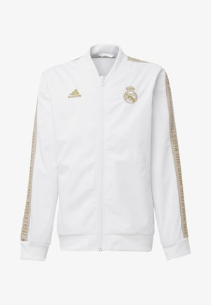 REAL MADRID ANTHEM JACKET - Club wear - white
