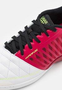 Nike Performance - LUNARGATO II - Halové fotbalové kopačky - cardinal red/crimson tint/black/white - 5