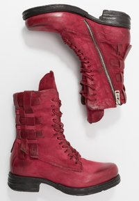 A.S.98 - Kovbojské/motorkářské boty - cardinal - 3
