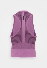 Under Armour - RUSH SEAMLESS CROP - Top - polaris purple - 7