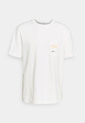 SURF GRAPH  - T-shirt med print - porcelain