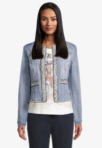 Betty Barclay - Denim jacket - blue bleached denim - 0