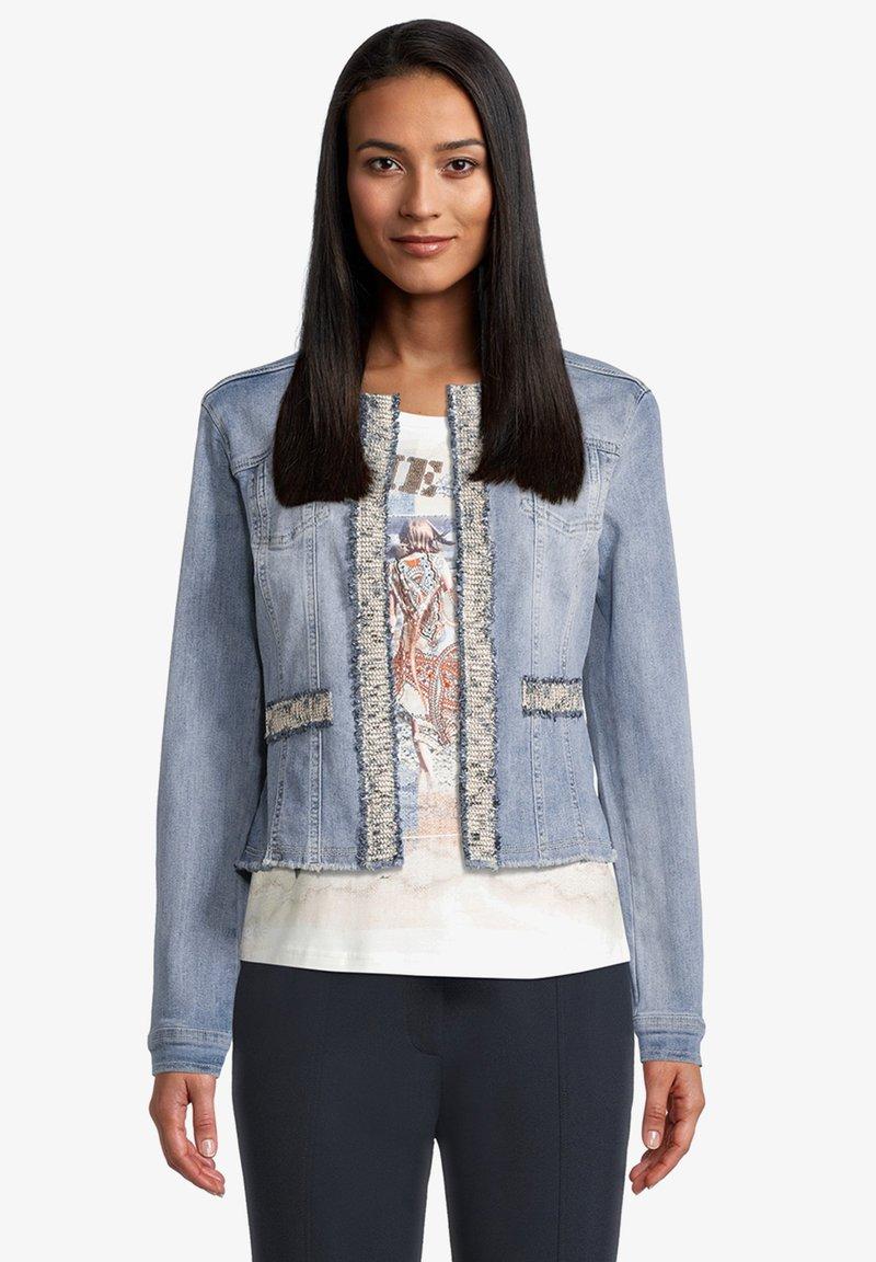 Betty Barclay - Denim jacket - blue bleached denim
