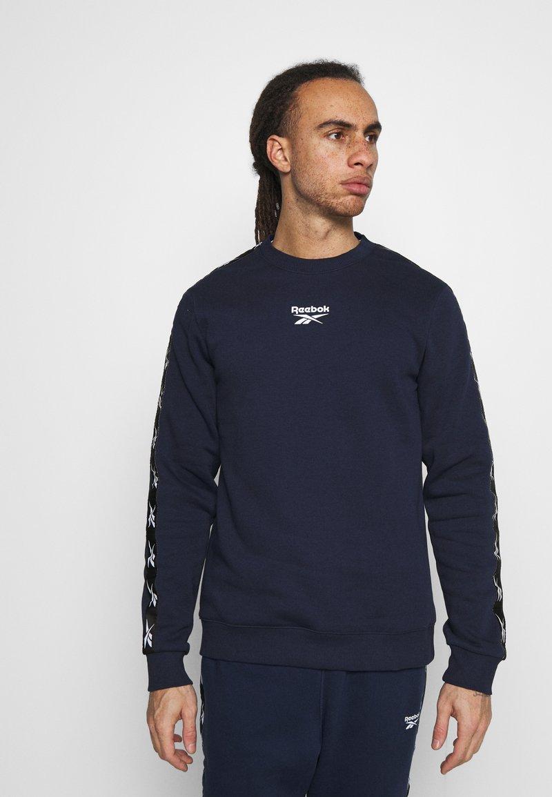 Reebok - TAPE CREW - Sweatshirts - dark blue