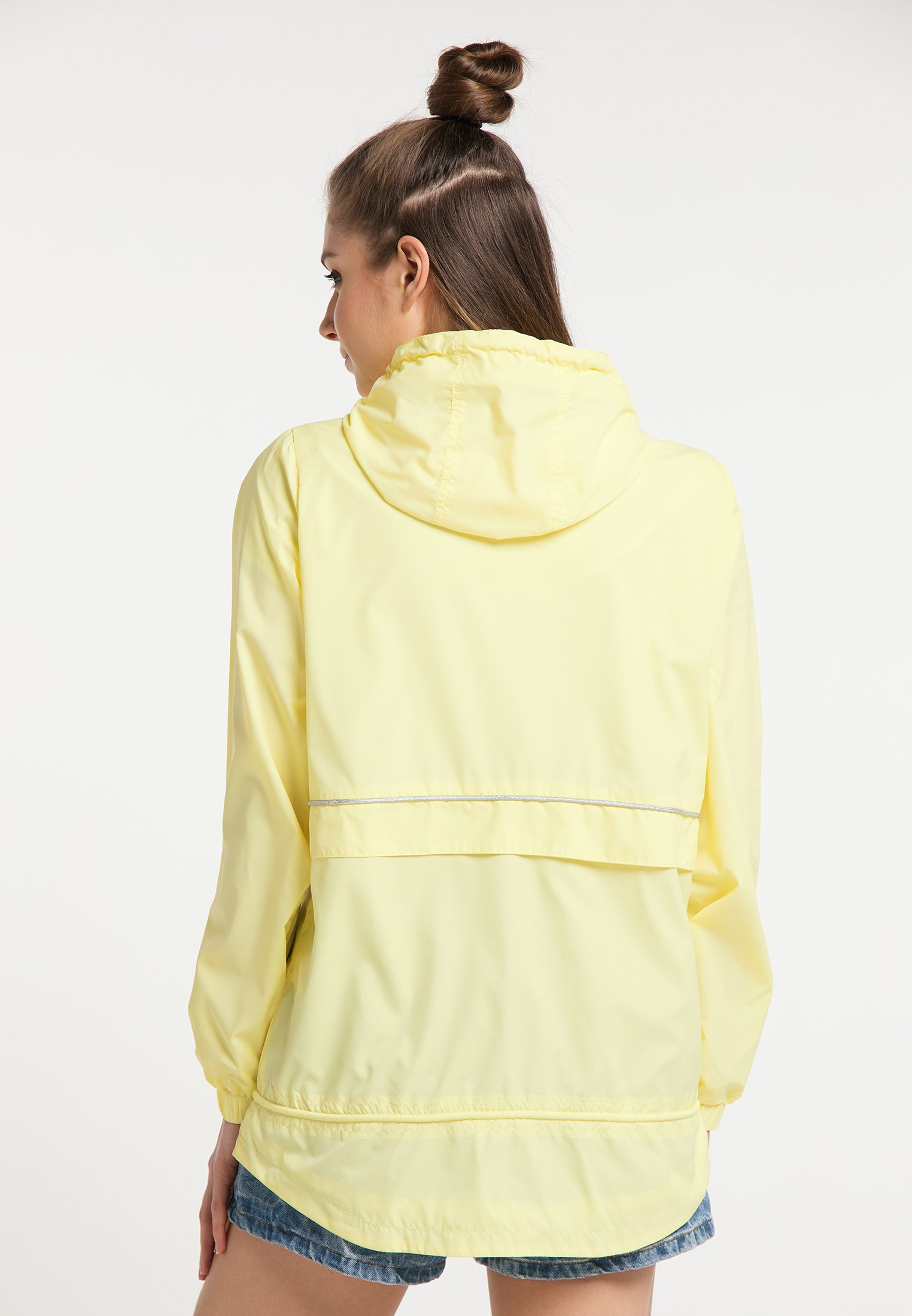 myMo WINDBREAKER Windbreaker light yellow/hellgelb