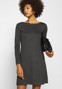 Anna Field - Jersey dress - dark grey melange - 4