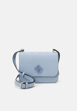 NOELLE MINI CROSSBODY FLAP - Olkalaukku - sky