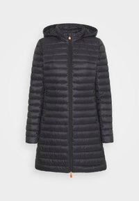 Save the duck - GIGA BRYANNA DETACHABLE HOODED - Winter coat - black - 5