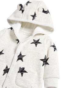 Next - BLUE COSY POPPER LIGHTWEIGHT JACKET (0MTHS-3YRS) - Zip-up hoodie - grey - 2