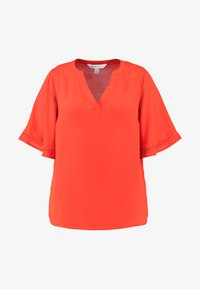 CAPSULE by Simply Be - LADDER INSERT TUNIC - Bluser - orange - 5