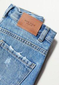 Mango - Slim fit jeans - bleu moyen - 2