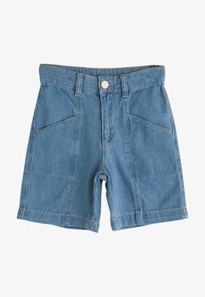 BASIC  - Denim shorts - indigo