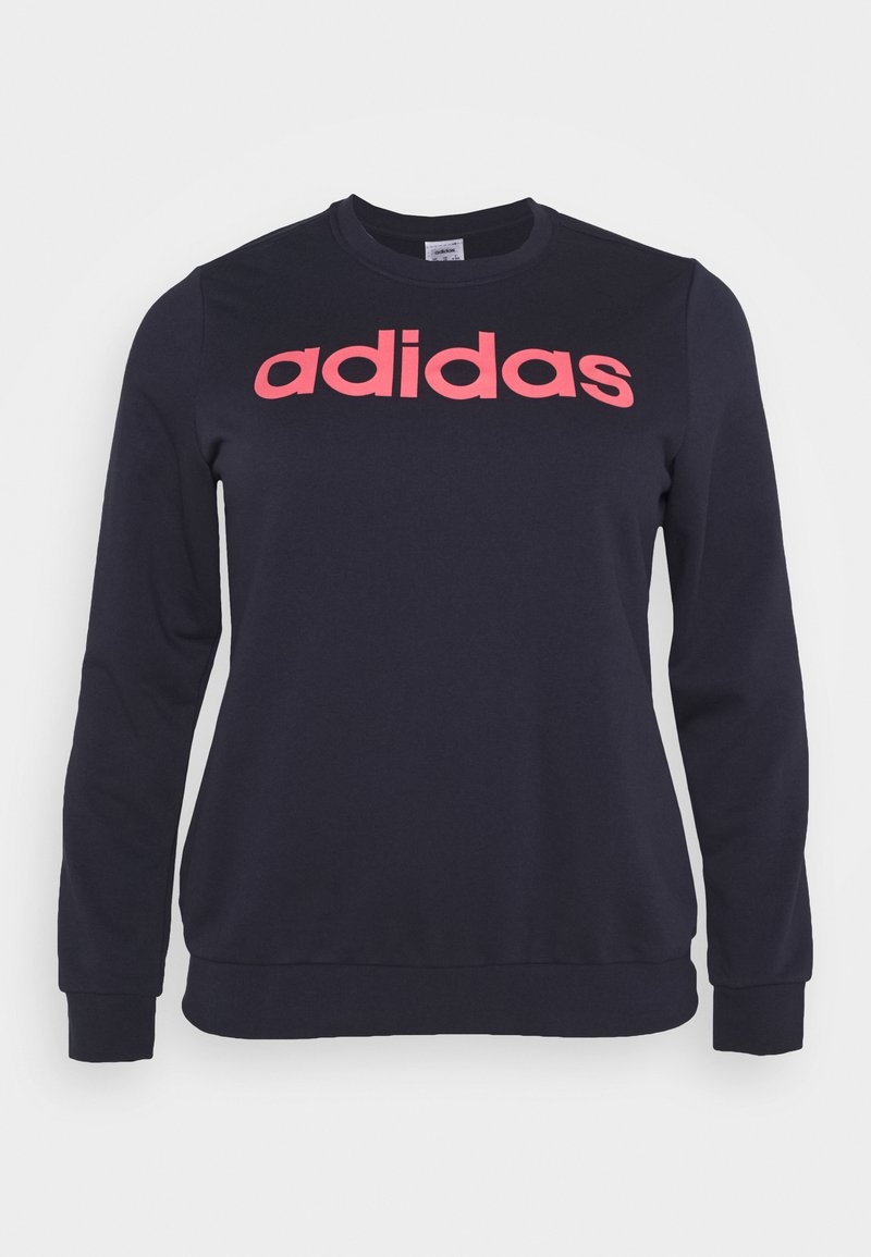 adidas Performance - ESSENTIALS PRIMEGREEN SPORTS - Sweatshirt - legend ink/signal pink