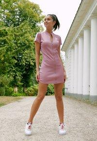 Puma - CLASSICS TIGHT DRESS - Kjole - foxglove - 3