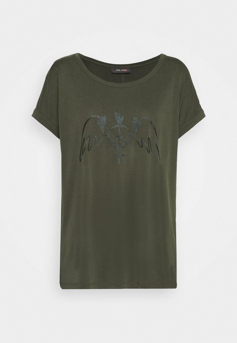 Mos Mosh - ALBA TEE - Print T-shirt - duffel bag