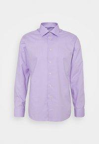 Eton - SLIM FINE DOTTED SHIRT - Formal shirt - purple - 0