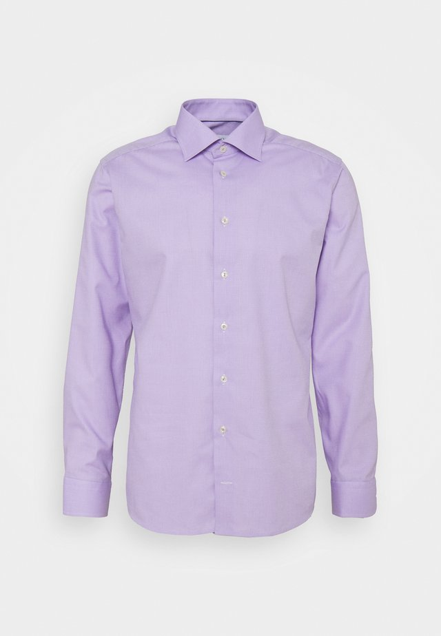 SLIM FINE DOTTED SHIRT - Camicia elegante - purple