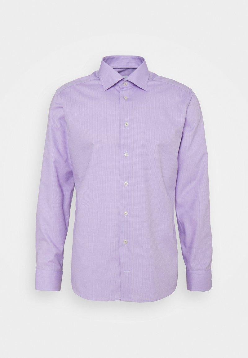Eton - SLIM FINE DOTTED SHIRT - Formal shirt - purple