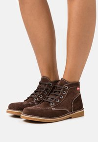 Kickers - LEGEND I KNEW - Ankle boots - marron fonce - 0