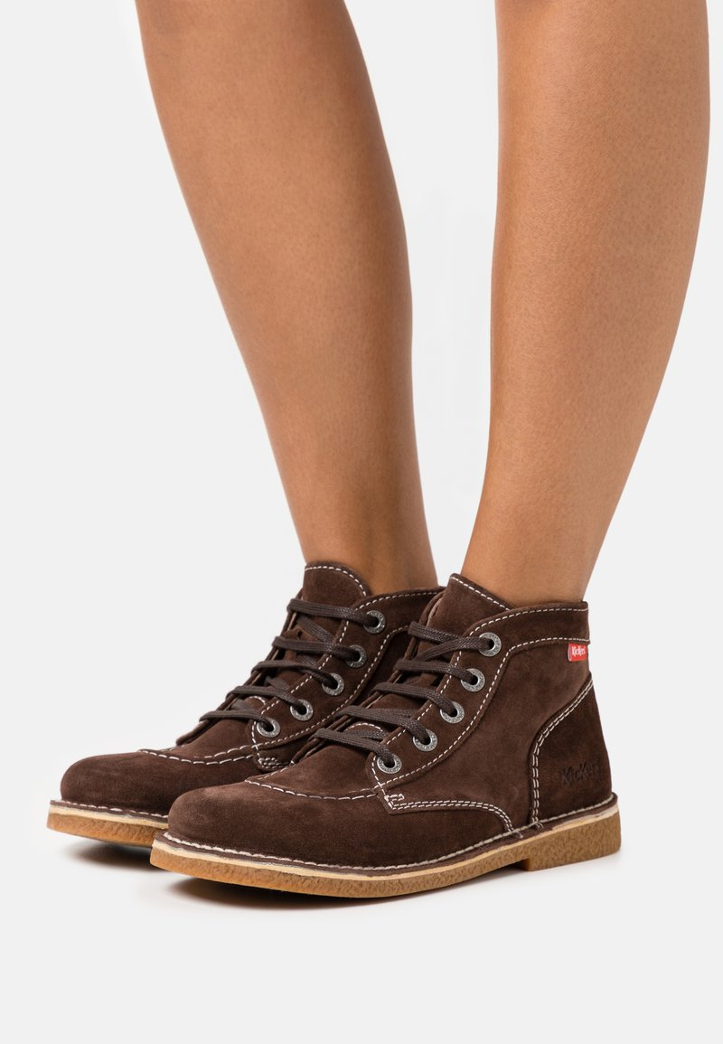 Kickers - LEGEND I KNEW - Ankle boots - marron fonce