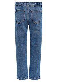 Kids ONLY - Straight Fit KONSkyler Frill Wide Ankle - Straight leg jeans - medium blue denim - 1