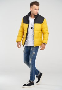 Jack & Jones - MIT - Winter jacket - yolk yellow - 1