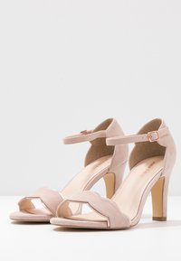 Anna Field Wide Fit - LEATHER - Sandales à talons hauts - rose - 4
