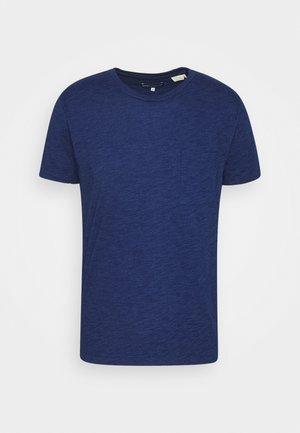 POCKET TEE - T-shirt basic - washed blue indigo
