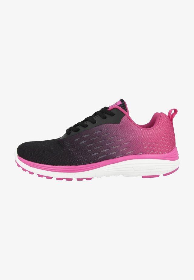 DUXFREE BERLIN - Sneakers laag - schwarz-pink (8810321)
