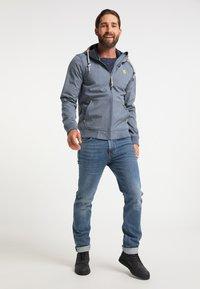 Schmuddelwedda - Waterproof jacket - dunkelmarine melange - 1