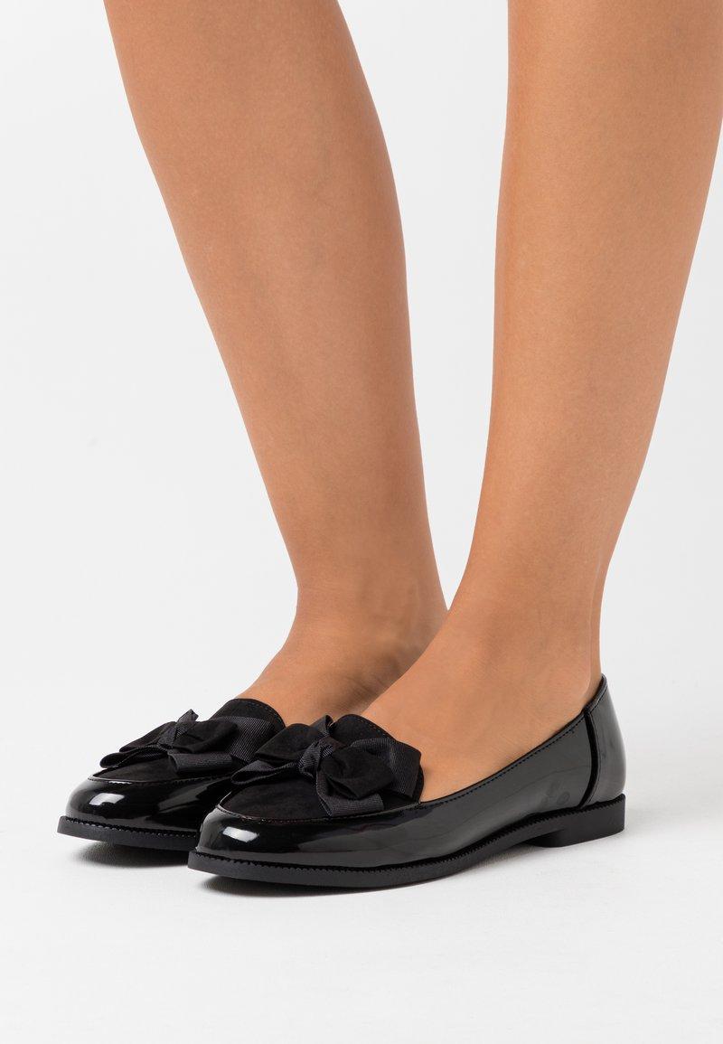 New Look - LOOTELLA  - Półbuty wsuwane - black