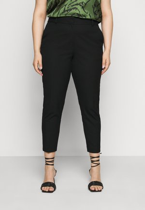 SLFDRIA CROPPED PANT - Trousers - black