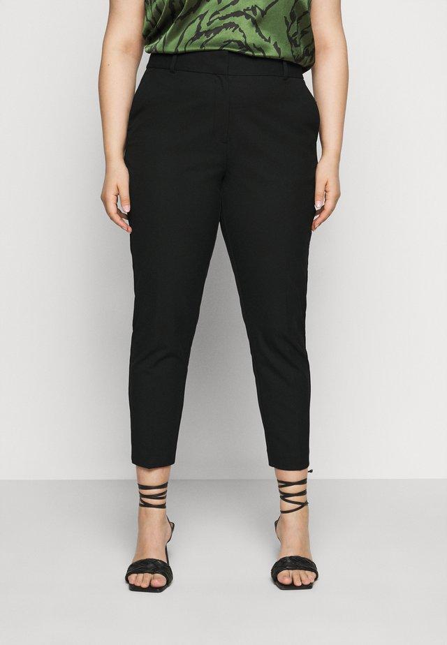 SLFDRIA CROPPED PANT - Pantalones - black