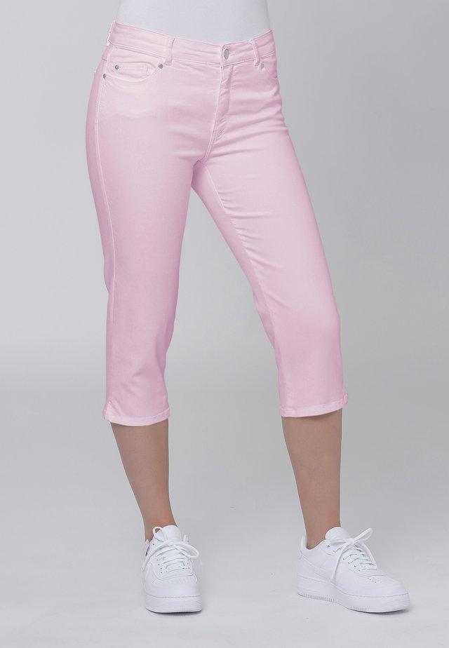 Farkkushortsit - soft pink