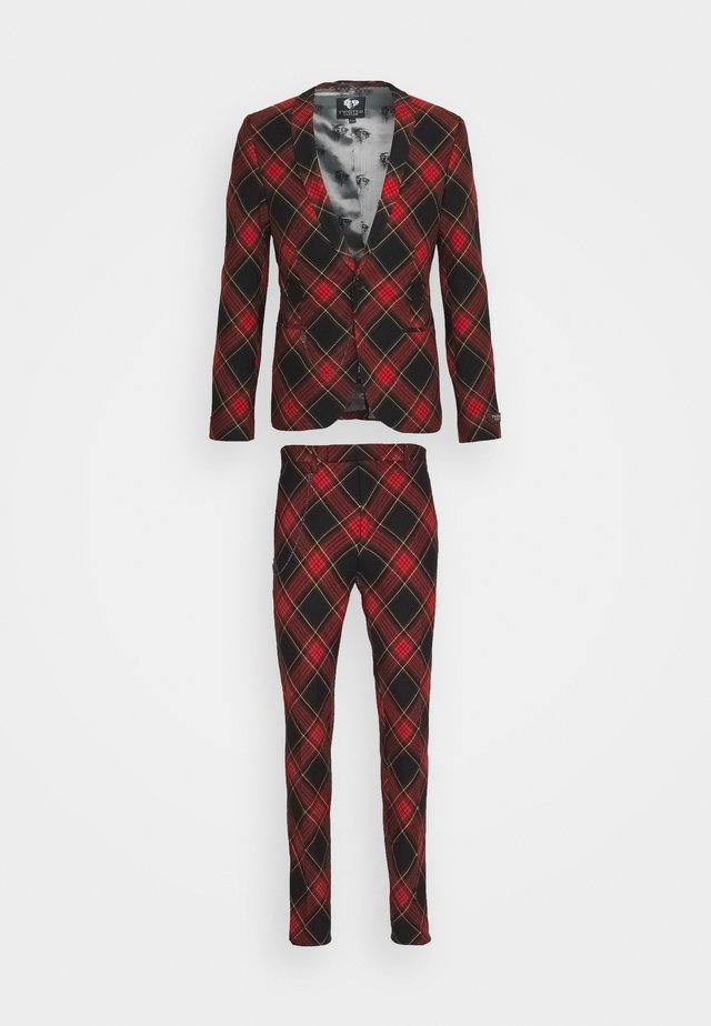 AWLESTON SUIT - Suit - red