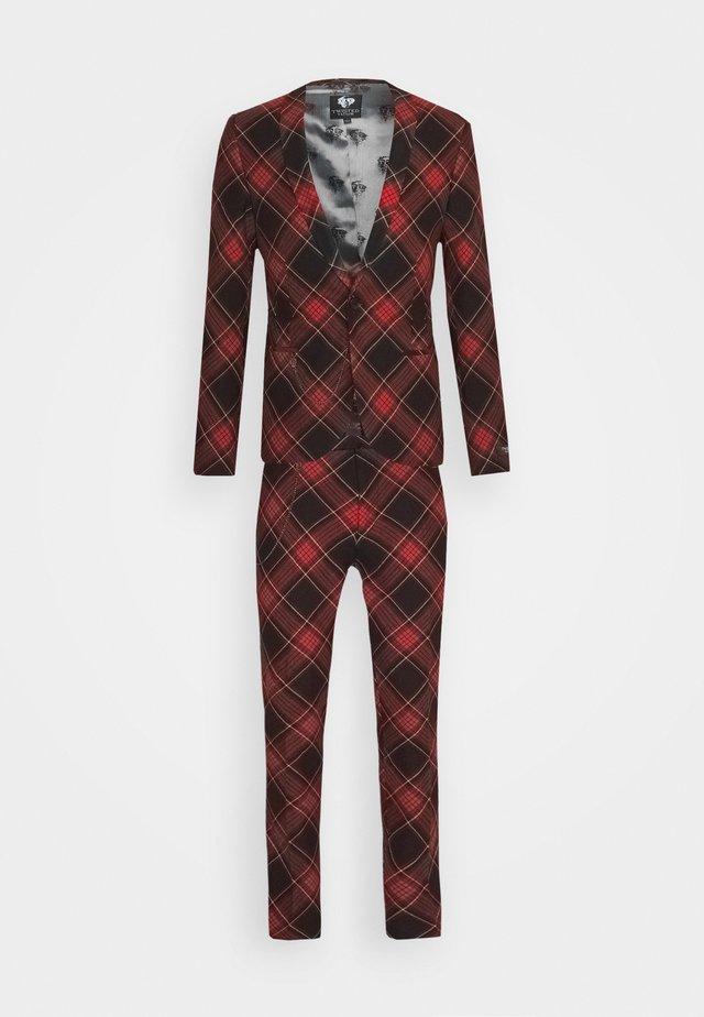 AWLESTON SUIT - Costume - red