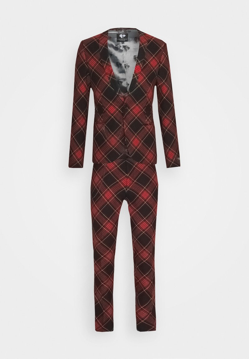 Twisted Tailor - AWLESTON SUIT - Oblek - red