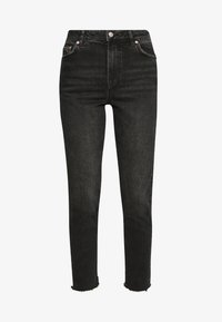 Pieces - PCNIMA - Jeans straight leg - black denim - 4