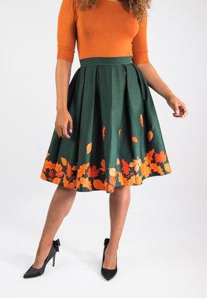 MARILU  - A-line skirt - green