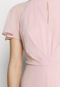 Dorothy Perkins - BLUSH PLEAT FRONT KEYHOLE MAXI DRESS - Iltapuku - pink - 7