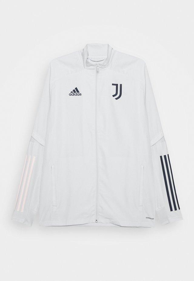 JUVENTUS SPORTS FOOTBALL TRACKSUIT JACKET - Vereinsmannschaften - grey/blue