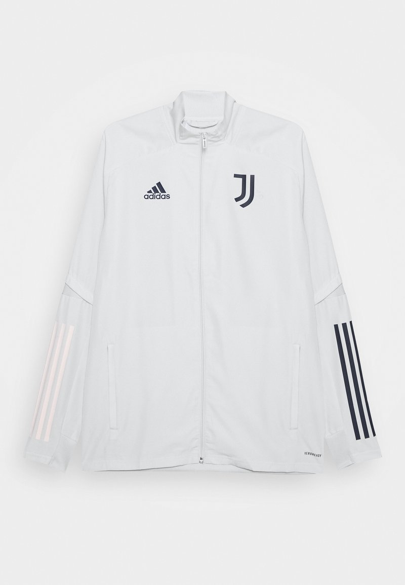 adidas Performance - JUVENTUS SPORTS FOOTBALL TRACKSUIT JACKET - Club wear - grey/blue