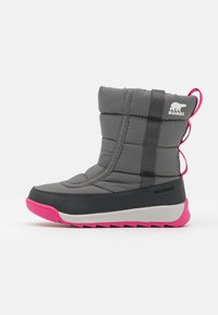 Sorel - YOUTH WHITNEY II PUFFY UNISEX - Winter boots - quarry - 0