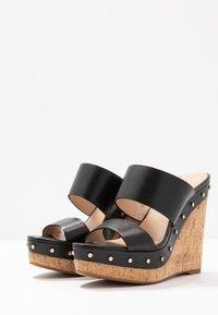 ALDO - LOVIESIEN - Heeled mules - black - 4