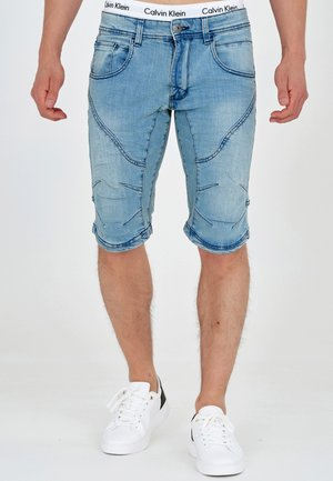 LEON - Denim shorts - blue wash