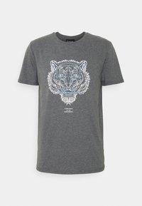 CLOSURE London - RIVAL TEE - T-shirt imprimé - anthrazit - 5