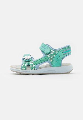 LEATHER - Sandals - mint
