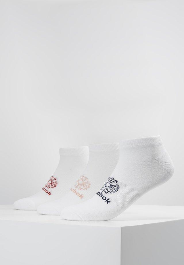 NO SHOW SOCK 3 PACK - Socks - white